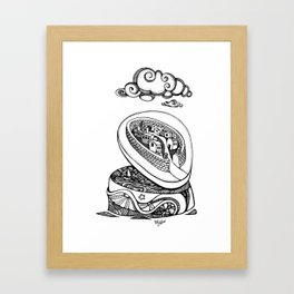 A different kind of jewellery box Framed Art Print