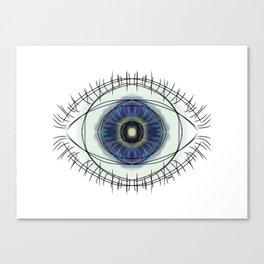 seeing blue Canvas Print