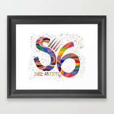 Indie Artists Society 6 Framed Art Print