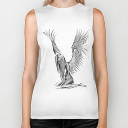 Lonely Angel Biker Tank