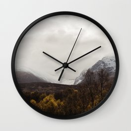 Vintage Mountain 28 Wall Clock
