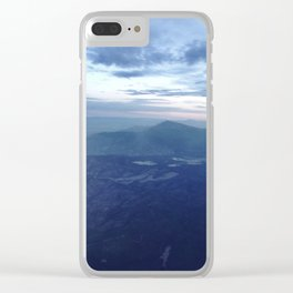 Santa Fe Blues Clear iPhone Case