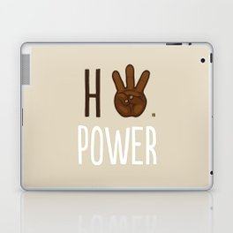 HiiiPower (w/text) : Chocolate Laptop & iPad Skin