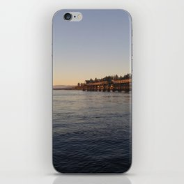 Campbell River Pier iPhone Skin