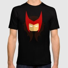 Scarlet Witch LARGE Mens Fitted Tee Black