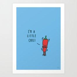 Chili Art Print