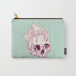 Skull No.2 // The Cristallized One Carry-All Pouch