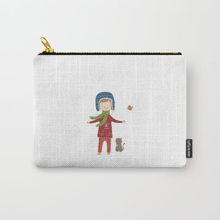 A  BIRD  IN LOVE  Carry-All Pouch