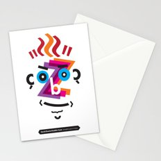 Type Faces No.2: David Bowie as Aladdin Sane brought to you in the typeface: Futura Stationery Cards