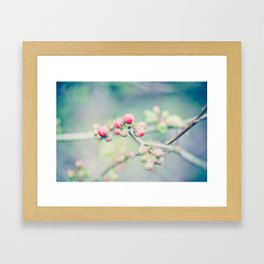 And Buds Thrive... Framed Art Print