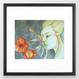 The Color of Grief Framed Art Print