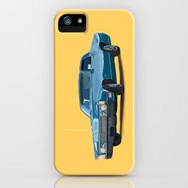 Vintage car solid colour iPhone Case