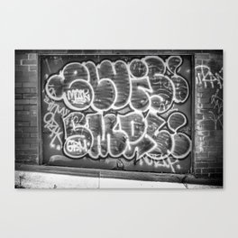 Grafitti Canvas Print
