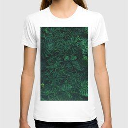 Fresh Tropical Greenery (Color) T-shirt
