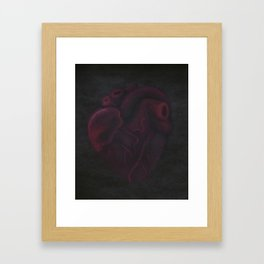 Beating Heart Framed Art Print