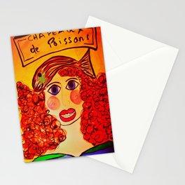 """""""Chapeaux de Poissons"""" Stationery Cards"""