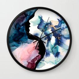 Desire Life Abstract Art Wall Clock