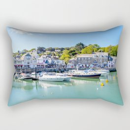 Padstow - Yacht in Harbour Rectangular Pillow