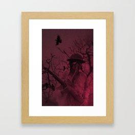 Funeral March Framed Art Print