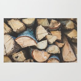Wood / Photography Print / Photography / Color Photography Rug
