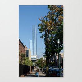 Buildings and Nature Canvas Print