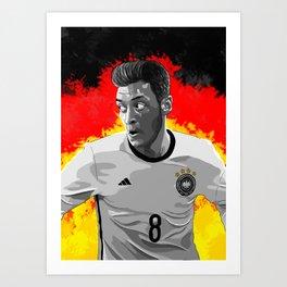 Mesut Özil - Germany Art Print