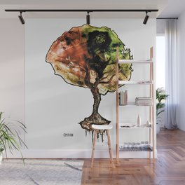 A Tree of Life Wall Mural