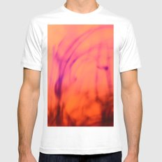 Diffusion 2 Mens Fitted Tee MEDIUM White