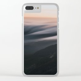 Sunset mood - Landscape and Nature Photography Clear iPhone Case