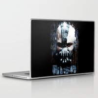 bane Laptop & iPad Skins featuring Bane: Rise by Sirenphotos