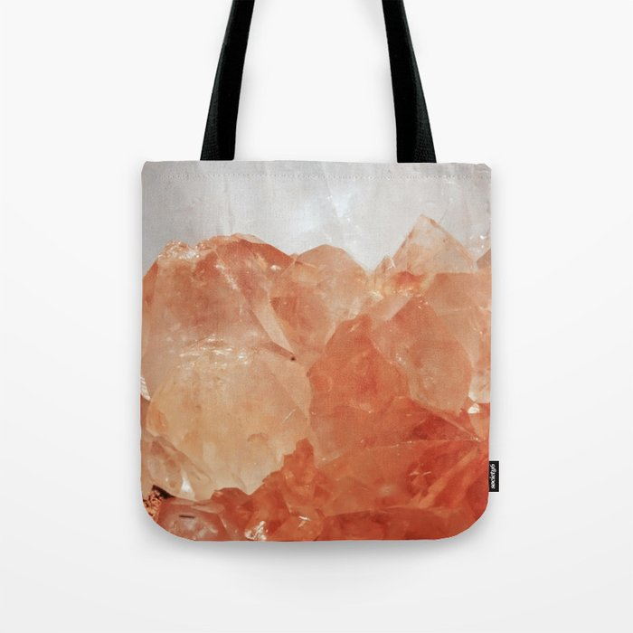 BLOOD ORANGE QUARTZ Tote Bag