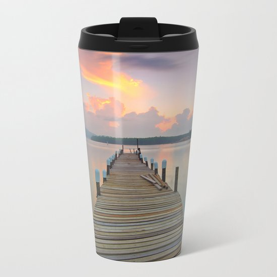 Dock Days Metal Travel Mug