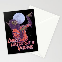 Dance Like No One Is Watching Stationery Cards