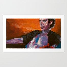 Ian Malcolm: Dino Daddy Art Print