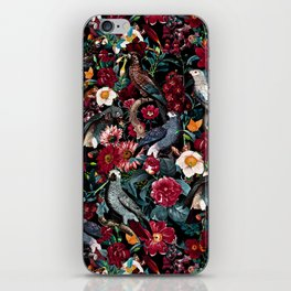 FLORAL AND BIRDS XX iPhone Skin