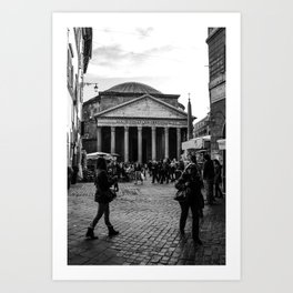 Rome: Pantheon Art Print