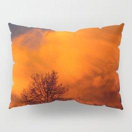 Orange Colorado Sunrise Pillow Sham