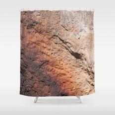 Rock Pattern (Lake Tahoe, California) Shower Curtain