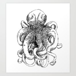 Octopus IV Art Print