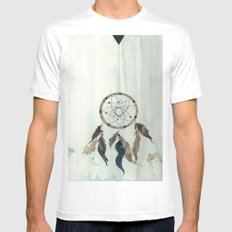 Dream Catcher Reservations White Mens Fitted Tee MEDIUM