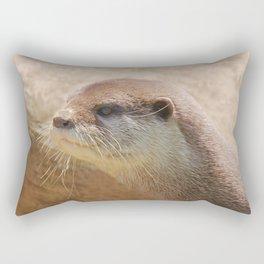 Otterly Close Rectangular Pillow