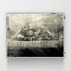 Live and Explore Mountains Laptop & iPad Skin