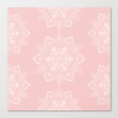 Winter Spirit - Blush  Canvas Print