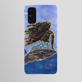 Lady of the Atlantic Crossing Android Case