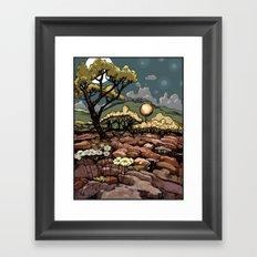 April 9, 2012 - adjusted color Framed Art Print