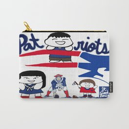 Team Patriots!  Carry-All Pouch