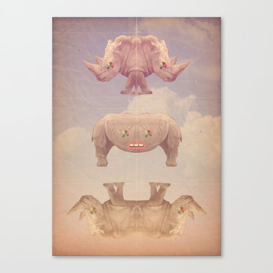 rino&ceronti Canvas Print