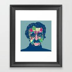 Edgar Allan Poe 1809 - 1849 Framed Art Print