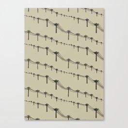 Metal Trees Canvas Print