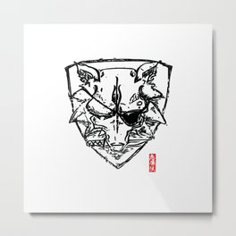 Wolf Shield - Crest Metal Print